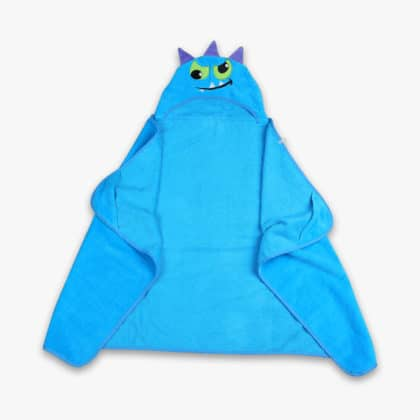 Cotton Kids Piece Dyed Hooded Towel 02